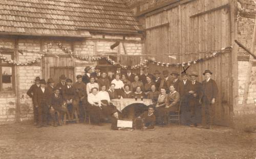 Kirmes in der Illa in den 20er Jahren